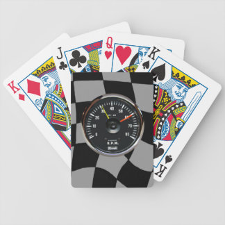 Vintage Analog Auto Tachometer Playing Cards