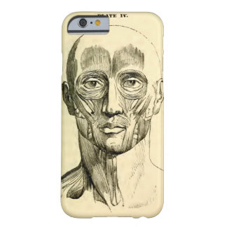 Vintage Anatomy | Muscles of the Face (circa 1852) Barely There iPhone 6 Case