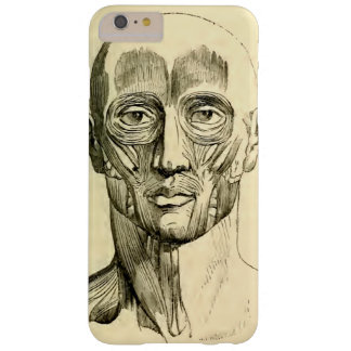 Vintage Anatomy | Muscles of the Face (circa 1852) Barely There iPhone 6 Plus Case