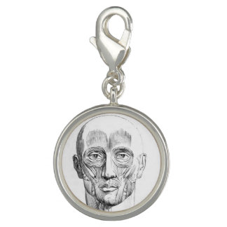 Vintage Anatomy | Muscles of the Face (circa 1852) Charms