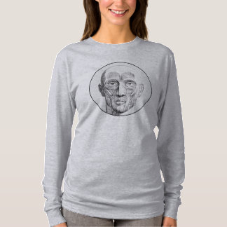 Vintage Anatomy | Muscles of the Face (circa 1852) T-Shirt