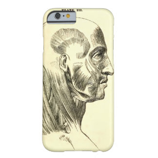 Vintage Anatomy | Muscles of the Head (circa 1852) Barely There iPhone 6 Case