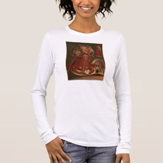 Vintage Anatomy | Neck and Face Long Sleeve T-Shirt