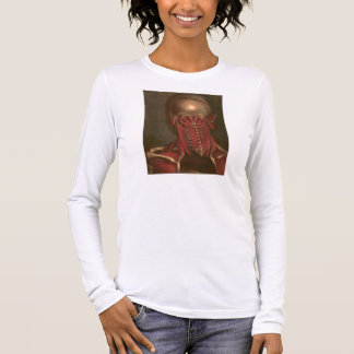 Vintage Anatomy | Neck and Shoulders Long Sleeve T-Shirt
