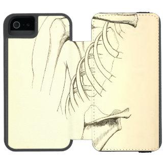 Vintage Anatomy | Scapula (circa 1852) Incipio Watson™ iPhone 5 Wallet Case