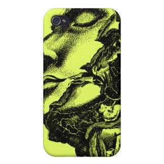 Vintage anatomy style drawing iphone case iPhone 4/4S cases