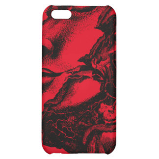 Vintage anatomy style drawing iphone case iPhone 5C covers