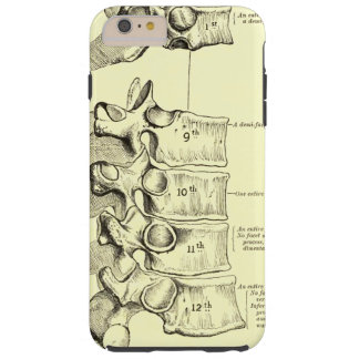 Vintage Anatomy | Vertebrae Tough iPhone 6 Plus Case