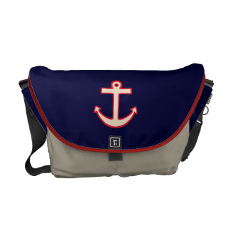 Vintage Anchor Cruise Travel Messenger Bag Gift
