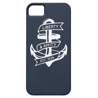 Vintage anchor design iPhone 5 cover