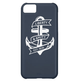 Vintage anchor design iPhone 5C cover