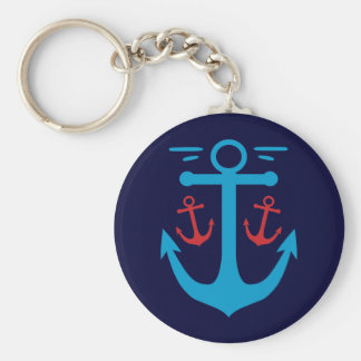 Vintage Anchor Keychains