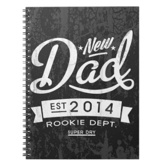 Vintage and Eye Catching New Dad 2014 Note Book