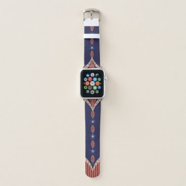 USA Themed Vintage and Patriotic USA Apple Watch Band