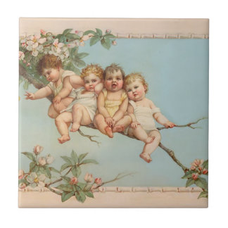 Vintage and Victorian Children Tiles