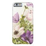 Vintage Anemone Flowers iPhone 6 Case