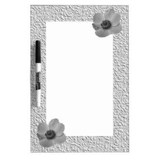 Vintage Anemone Memo Board Dry-Erase Boards