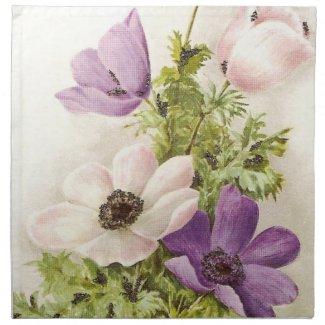 Vintage Anemone mojo_napkin