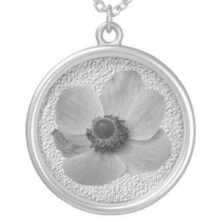 Vintage Anemone Necklace