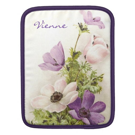 Vintage Anemone Sleeves For iPads