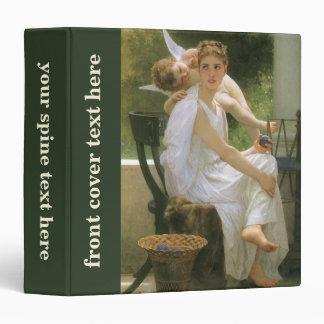 Vintage Angel Art, Work Interrupted by Bouguereau Binder