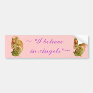 Vintage *Angel* Bumper Sticker