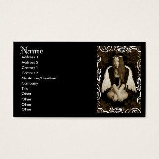 Vintage Angel Business Card