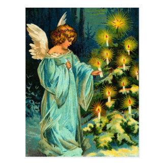 Vintage Angel Christmas Postcards