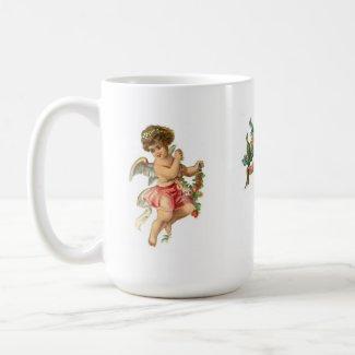 Vintage Angel Cup mug