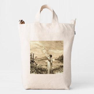 vintage angel duck bag