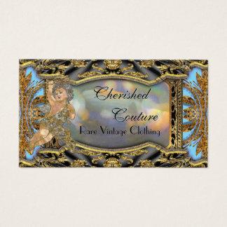 """Vintage Angel Elegant 2"""" Professional Business Card"""