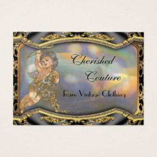 Vintage Angel Elegant Professional Business Card
