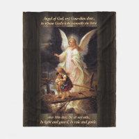 Vintage Angel Fleece Blanket
