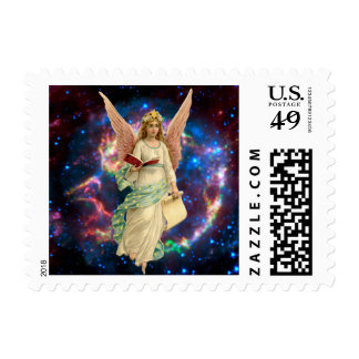 Vintage Angel in Heaven Postage
