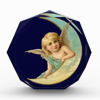Vintage Angel in Moon Award