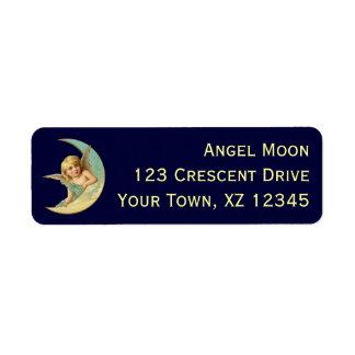Vintage Angel in Moon Label