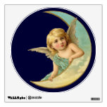 Vintage Angel in Moon Room Decals