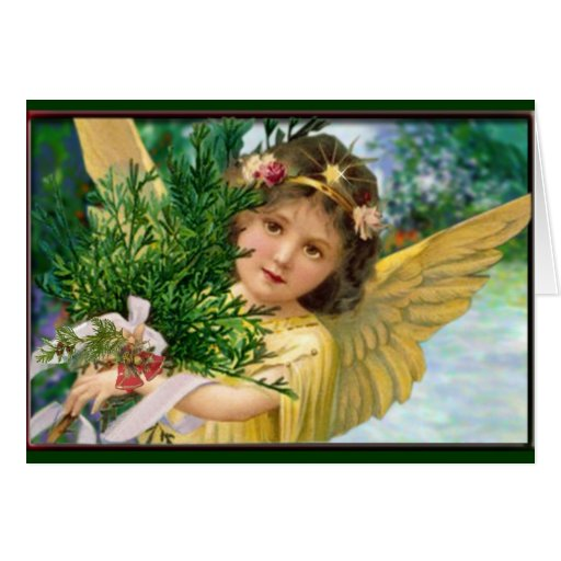 Vintage Angel In The Snow...