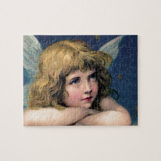 Vintage Angel Jigsaw Puzzle