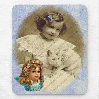 Vintage Angel Mousepad