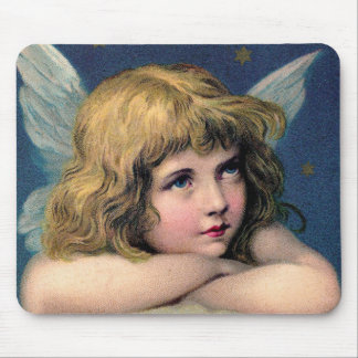 Vintage Angel Mousepads