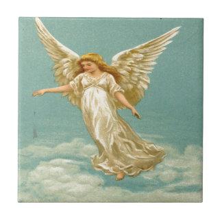 Vintage, Angel on The Cloud Tile
