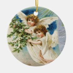 Vintage Angel Ornament at Zazzle