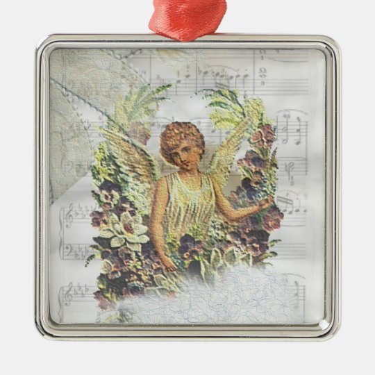 Vintage Angel Ornament