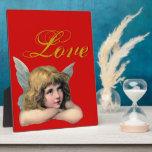 Vintage Angel Photo Plaque