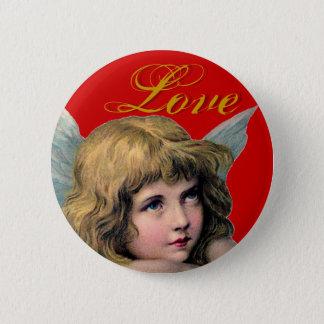 Vintage Angel Pinback Button