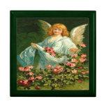 Vintage, Angel & Pink Roses Gift Boxes