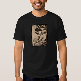 Vintage Angel Playing Lute T-shirt