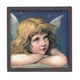 Vintage Angel Premium Trinket Box