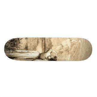 vintage angel skate board deck
